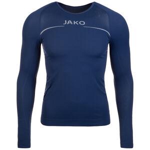 Comfort Trainingsshirt Herren, dunkelblau / weiß, zoom bei OUTFITTER Online