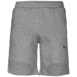 TeamCUP Casuals Trainingsshorts Herren, grau, zoom bei OUTFITTER Online