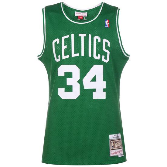 Classic Swingman #34 Paul Pierce Basketballtrikot Herren, grün / weiß, zoom bei OUTFITTER Online