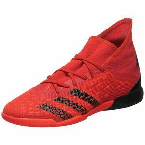 Predator Freak .3 Indoor Fußballschuh Herren, rot / schwarz, zoom bei OUTFITTER Online