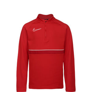 Academy 21 Drill Longsleeve Kinder, rot / weiß, zoom bei OUTFITTER Online