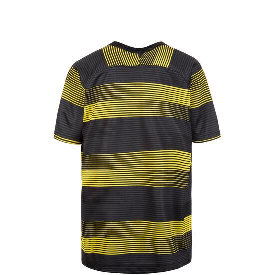 Manchester City Dry Squad GX Trainingsshirt Kinder, gelb / schwarz, zoom bei OUTFITTER Online
