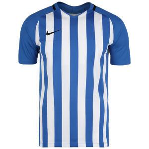Striped Division III Fußballtrikot Herren, blau / weiß, zoom bei OUTFITTER Online