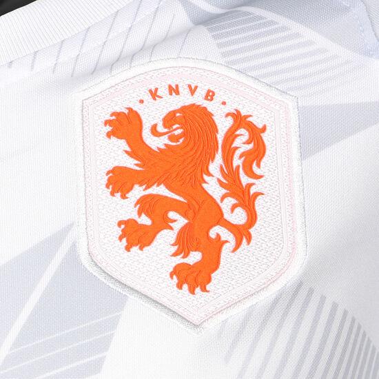 Niederlande Dry Trainingsshirt Kinder, weiß / orange, zoom bei OUTFITTER Online