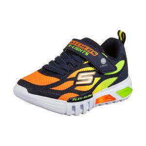 Flex-Glow Dezlom Sneaker Kinder, dunkelblau / neonorange, zoom bei OUTFITTER Online
