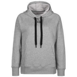 Rival Fleece Kapuzenpullover Damen, grau / schwarz, zoom bei OUTFITTER Online