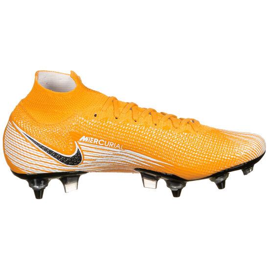 Mercurial Superfly 7 Elite DF AC SG-Pro Fußballschuh Herren, orange / schwarz, zoom bei OUTFITTER Online