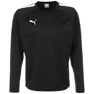 TeamLIGA Trainingssweat Herren, schwarz / weiß, zoom bei OUTFITTER Online