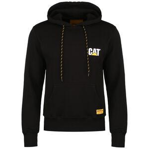 CAT Small Logo Kapuzenpullover Herren, schwarz, zoom bei OUTFITTER Online