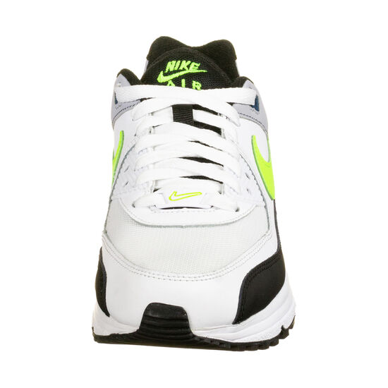 Air Max Wright GS Sneaker Kinder, weiß / neongelb, zoom bei OUTFITTER Online