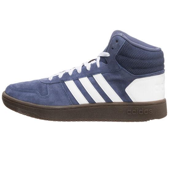 Hoops Mid 2.0 Sneaker Herren, blau / weiß, zoom bei OUTFITTER Online