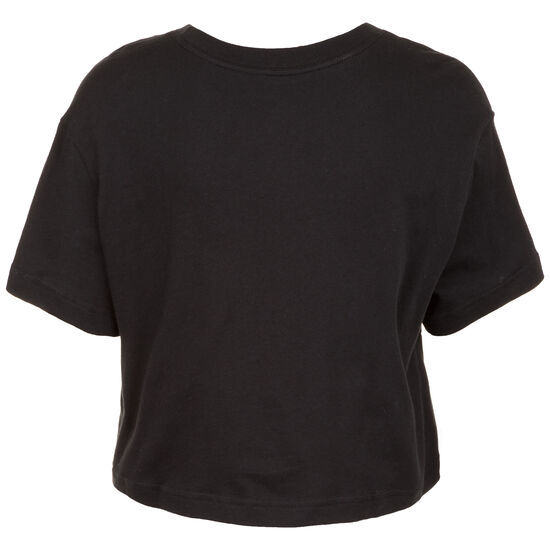 Rebel Cropped T-Shirt Damen, schwarz / weiß, zoom bei OUTFITTER Online