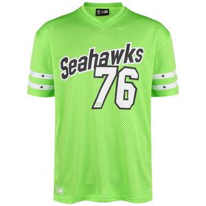 NFL Seattle Seahawks Stripe Sleeve Oversized T-Shirt Herren, grün / weiß, zoom bei OUTFITTER Online
