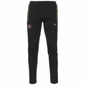 Manchester City Evostripe Trainingshose Herren, schwarz / dunkelgrün, zoom bei OUTFITTER Online