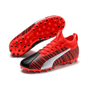 ONE 5.3 MG Fußballschuh Kinder, schwarz / rot, zoom bei OUTFITTER Online