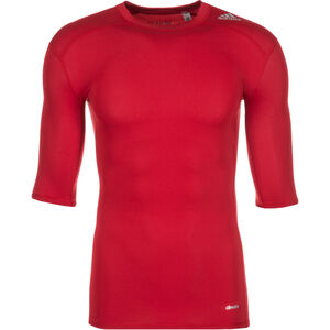 TechFit Base Trainingsshirt Herren, Rot, zoom bei OUTFITTER Online