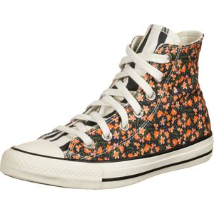 Chuck Taylor All Star High Sneaker Damen, schwarz / orange, zoom bei OUTFITTER Online