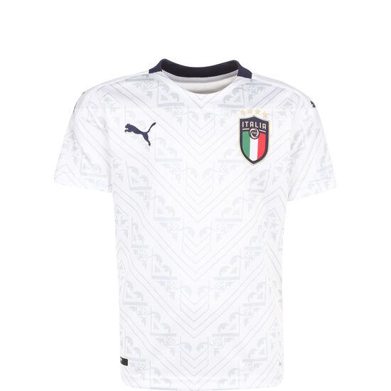 FIGC Italien Trikot Away EM 2020 Kinder, weiß / dunkelblau, zoom bei OUTFITTER Online