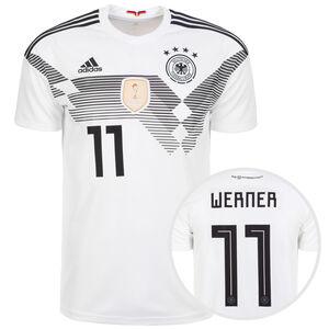 DFB Trikot Home Werner WM 2018 Herren, Weiß, zoom bei OUTFITTER Online