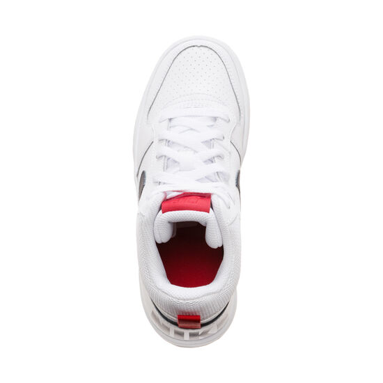 Court Borough Mid Sneaker Kinder, weiß / dunkelblau, zoom bei OUTFITTER Online