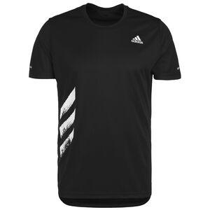 Run It 3-Stripes Laufshirt Herren, schwarz, zoom bei OUTFITTER Online
