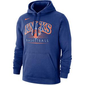 NBA New York Knicks Kapuzenpullover Herren, dunkelblau / orange, zoom bei OUTFITTER Online