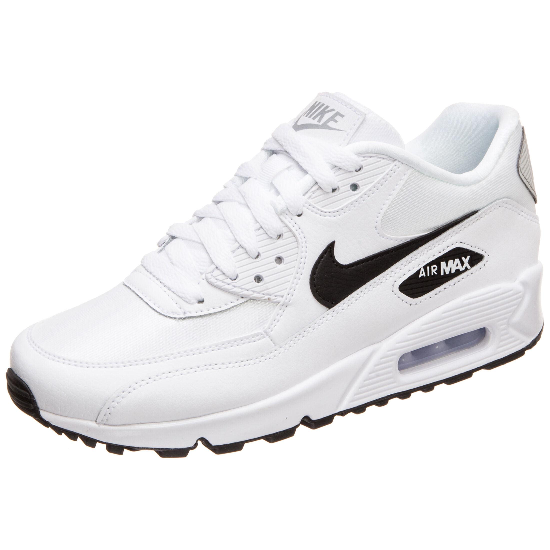 low priced 462c3 dd40e ... australia air max 90 sneaker damen weiß schwarz zoom bei outfitter  online. neu. nike ...