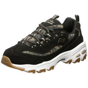 D´Lites Quick Leopard Sneaker Damen, schwarz / braun, zoom bei OUTFITTER Online