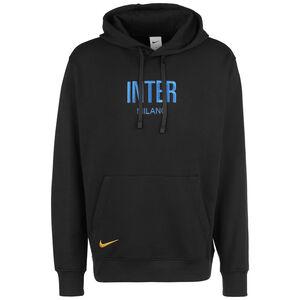 Inter Mailand Fleece Kapuzenpullover Herren, schwarz / blau, zoom bei OUTFITTER Online