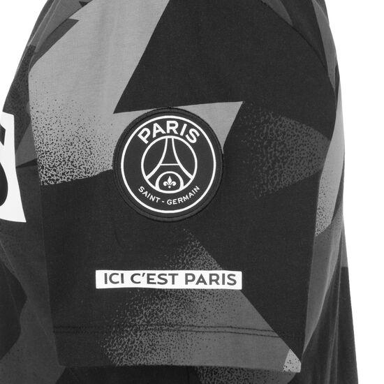 Paris St.-Germain Jordan Jock Tag T-Shirt Herren, schwarz / grau, zoom bei OUTFITTER Online