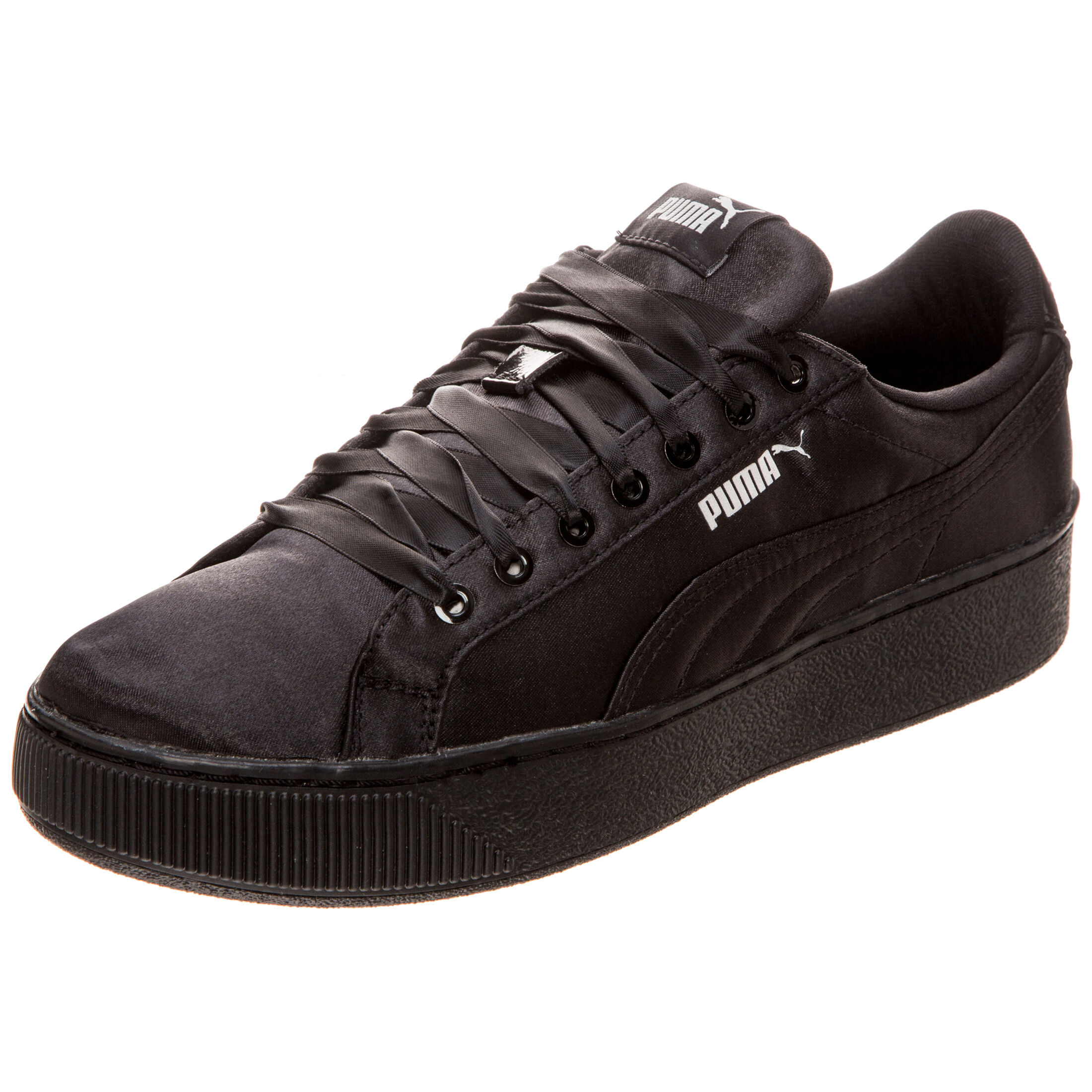 M dchen Damen Sneaker Puma Vikky Platform Softfoam schwarz Gr. 385