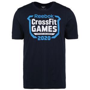 CrossFit Games Crest Trainingsshirt Herren, dunkelblau / blau, zoom bei OUTFITTER Online