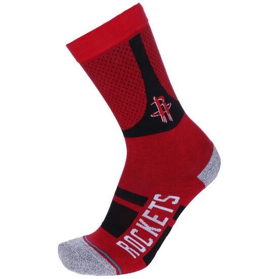 NBA Houston Rockets Shortcut 2 Socken, dunkelrot / schwarz, zoom bei OUTFITTER Online
