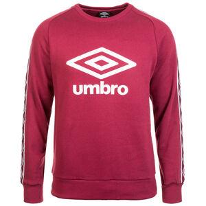 Retro Taped Crew Sweatshirt Herren, rot / weiß, zoom bei OUTFITTER Online