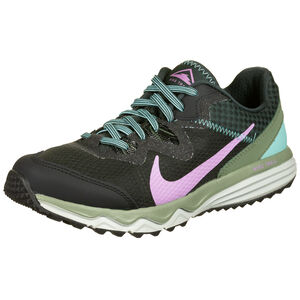 Juniper Trail Laufschuh Damen, schwarz / oliv, zoom bei OUTFITTER Online