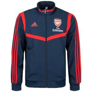 FC Arsenal Präsentationsjacke Herren, dunkelblau / rot, zoom bei OUTFITTER Online