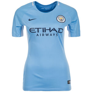 Manchester City Trikot Home Stadium 2017/2018 Damen, Blau, zoom bei OUTFITTER Online