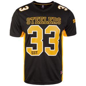NFL Moro Poly Mesh Pittsburgh Steelers T-Shirt Herren, schwarz / gelb, zoom bei OUTFITTER Online