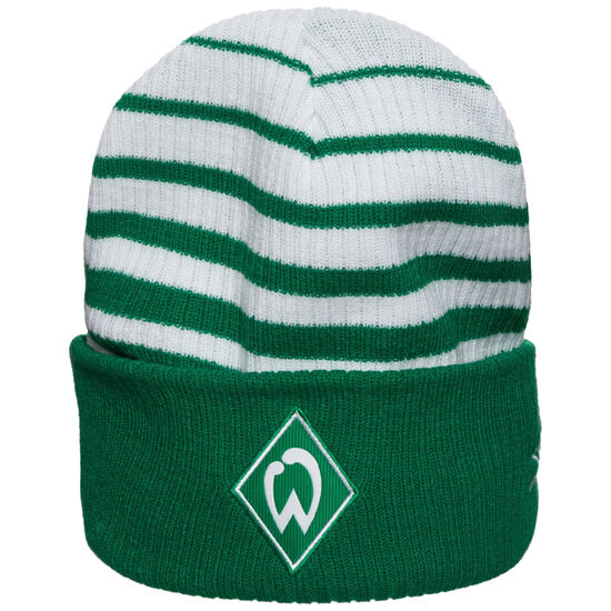 SV Werder Bremen Two Colour Striped Beanie, , zoom bei OUTFITTER Online
