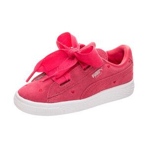 Suede Heart Valentine Sneaker Kleinkinder, Pink, zoom bei OUTFITTER Online