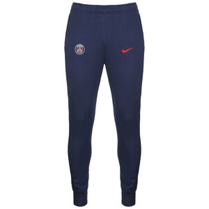 Paris St.-Germain Fleece Trainingshose Herren, dunkelblau / rot, zoom bei OUTFITTER Online