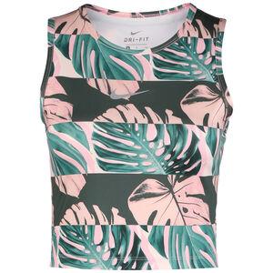 Fast Lauftop Damen, rosa / dunkelgrün, zoom bei OUTFITTER Online