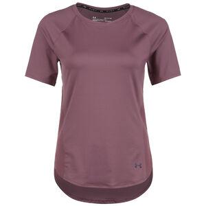 Rush Mesh Trainingsshirt Damen, aubergine, zoom bei OUTFITTER Online