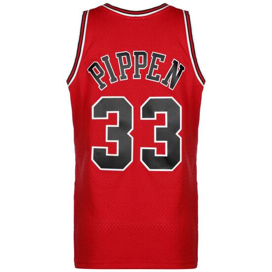 NBA Chicago Bulls Swingman Scottie Pippen Basketballtrikot Herren, dunkelrot, zoom bei OUTFITTER Online