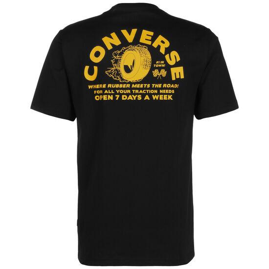 Auto Repair Shop T-Shirt Herren, schwarz / gelb, zoom bei OUTFITTER Online