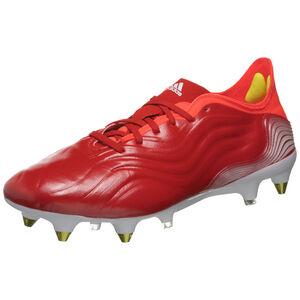 Copa Sense.1 SG Fußballschuh Herren, rot / weiß, zoom bei OUTFITTER Online