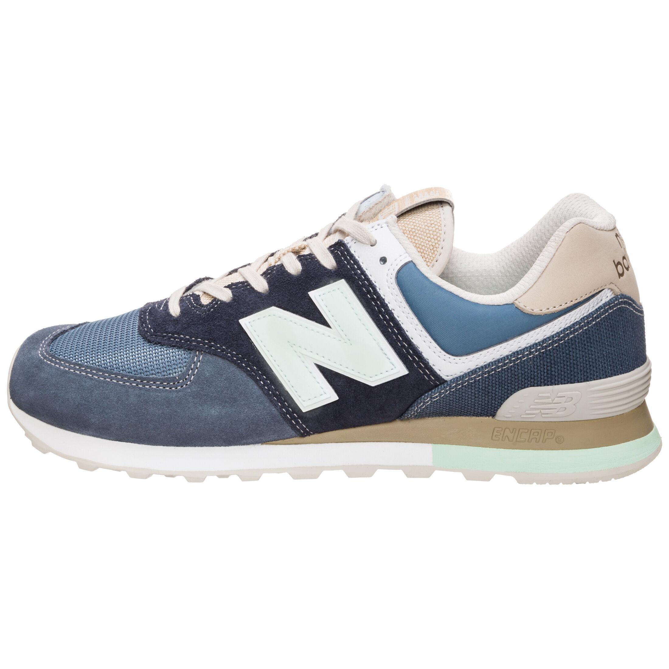 »Ml574-bsl-d« Sneaker, blau, dunkelblau-beige New Balance