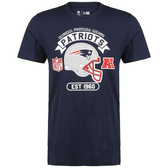 NFL New England Patriots Graphic Helmet T-Shirt Herren, dunkelblau / weiß, zoom bei OUTFITTER Online
