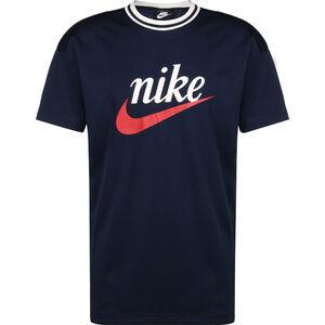 Mesh Graphic T-Shirt Herren, dunkelblau / weiß, zoom bei OUTFITTER Online