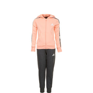 Hooded Trainingsanzug Kinder, rosa / grau, zoom bei OUTFITTER Online